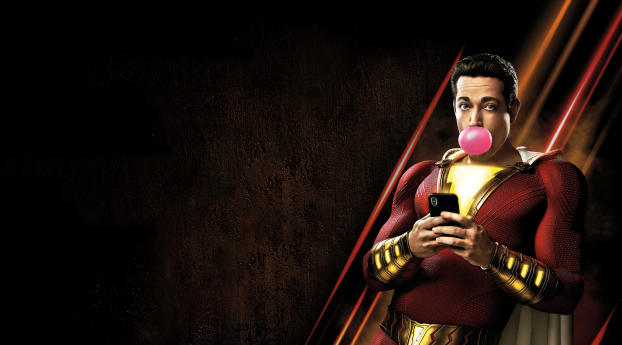 HD Wallpaper | Background Image Shazam Movie Poster