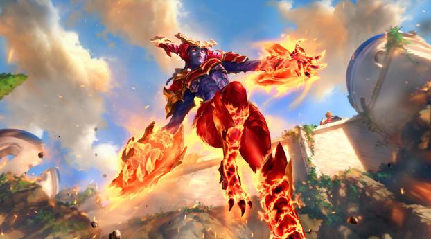 Shyvana League Of Legends Wallpaper