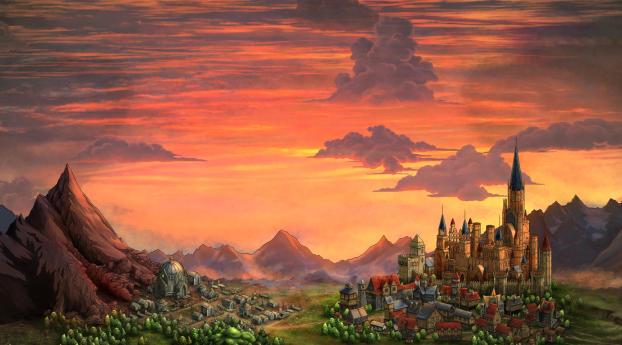 HD Wallpaper | Background Image Sin Slayers Landscape