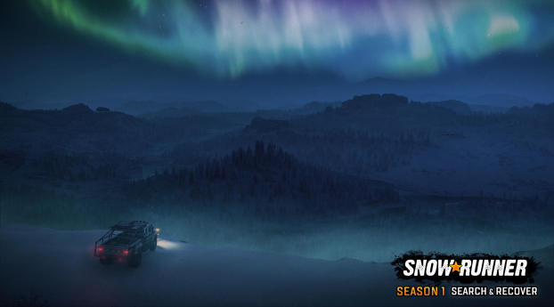SnowRunner Search and Recover Wallpaper
