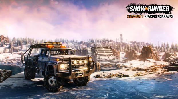 SnowRunner Season 1 Wallpaper