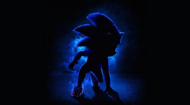 Sonic the Hedgehog 2019 Movie Poster Wallpaper