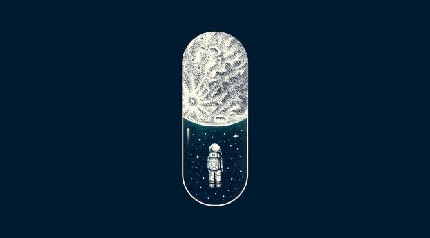 HD Wallpaper   Background Image Space Capsule