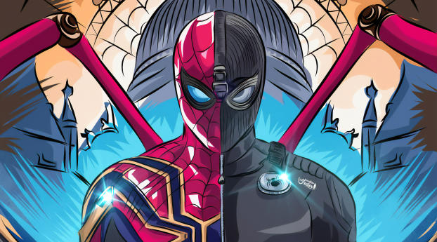 HD Wallpaper | Background Image Spider Man Black and Red Suit Comic