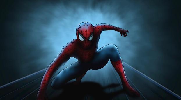 HD Wallpaper | Background Image Spider-Man Fan Draw 2020