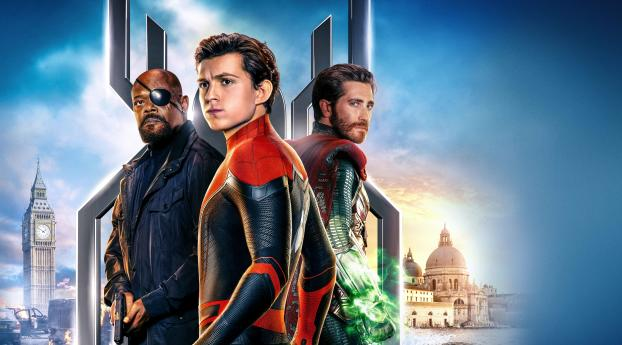HD Wallpaper | Background Image Spider Man Far From Home 12k