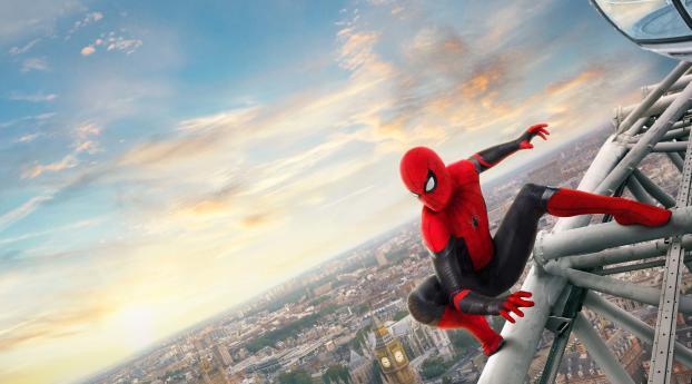 Spider-Man Far From Home 4K Wallpaper