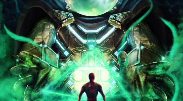 Spider Man Far From Home Artwork Wallpaper Hd Artist 4k