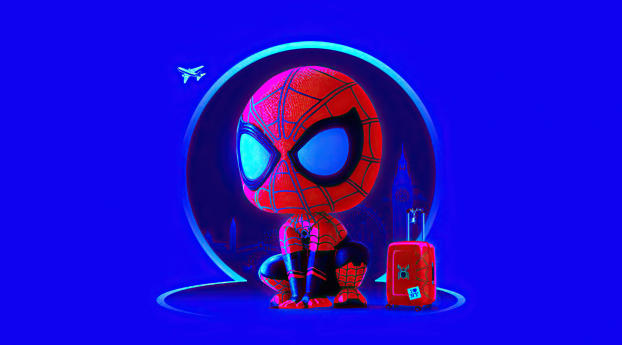 Spider Man Homecoming Cute Wallpaper in 3840x2160 Resolution