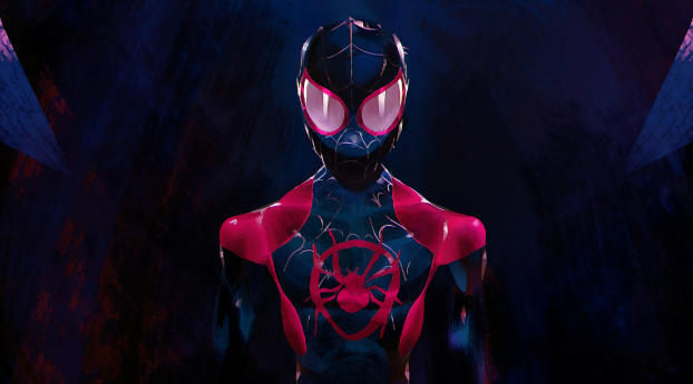 10 Best Spider Man 2099 Wallpaper Full Hd 1080p For Pc: Spider-man Into The Spider-verse Movie, Full HD Wallpaper