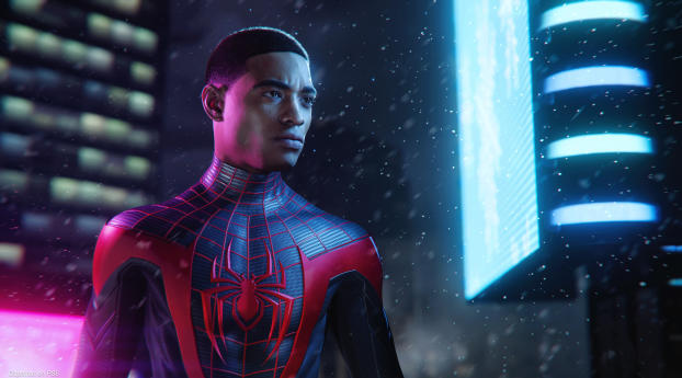 Spider Man Miles Morales PS5 Wallpaper