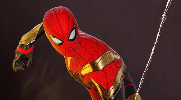 Spider-Man No Way Home HD Superhero Movie Wallpaper