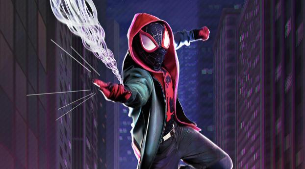 HD Wallpaper | Background Image Spider Verse 4K
