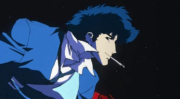 HD Wallpaper | Background Image Spike Spiegel Cowboy Bebop 4K Art