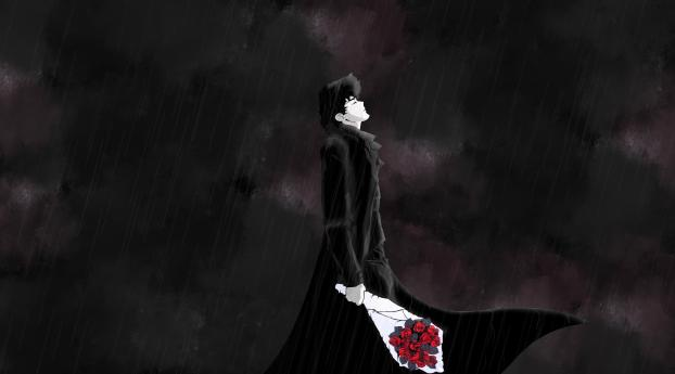 HD Wallpaper | Background Image Spike Spiegel in Rain