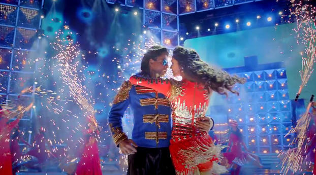HD Wallpaper | Background Image Srk With Deepika Happy New Year 2014 Movie Photos