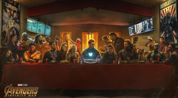 Infinity War Last Supper