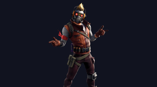 320x240 Star Lord Outfit Skin Fortnite Avengers Apple Iphone