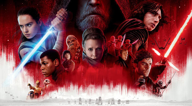 480x484 Star Wars 8 Cast Poster Android One Wallpaper Hd Movies 4k Wallpapers Images Photos And Background