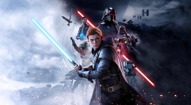 HD Wallpaper | Background Image Star Wars Jedi Fallen Order Poster 2019