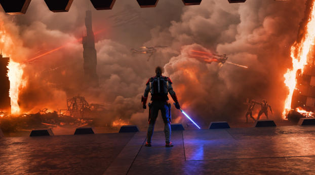 2560x1024 Star Wars Siege Of Mandalore 2560x1024 Resolution Wallpaper Hd Artist 4k Wallpapers Images Photos And Background