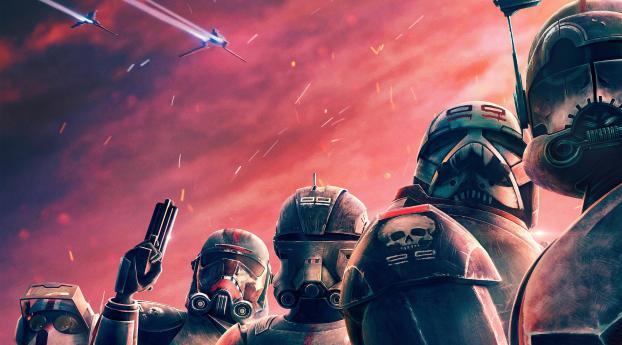Star Wars The Bad Batch 2021 Wallpaper