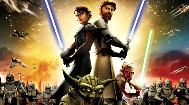 HD Wallpaper | Background Image Star Wars The Clone Wars Season 6