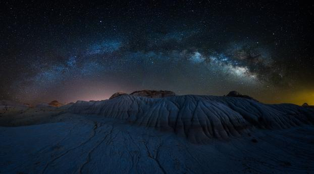 Starry Night Photography Wallpaper