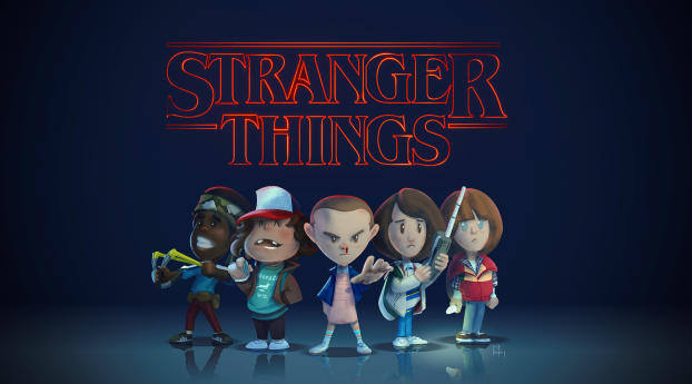 HD Wallpaper | Background Image Stranger Things Fan Art