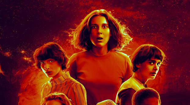 Stranger things season 3 wallpaper hd tv series 4k - Stranger things desktop wallpaper ...