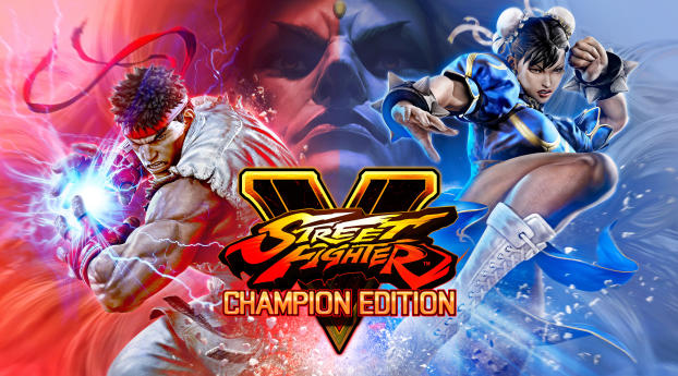 HD Wallpaper | Background Image Street Fighter 5 Poster