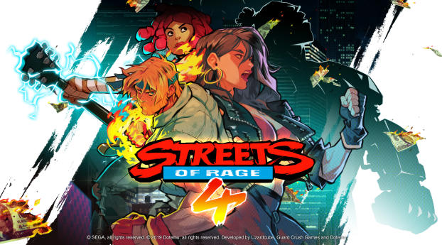 HD Wallpaper | Background Image Streets of Rage 4 Poster