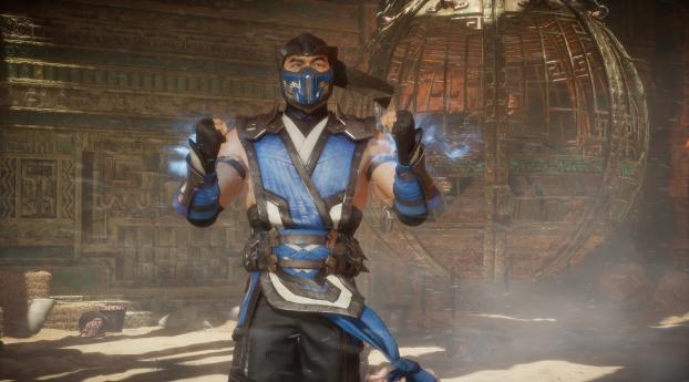 HD Wallpaper | Background Image Sub-Zero in Mortal Kombat 11