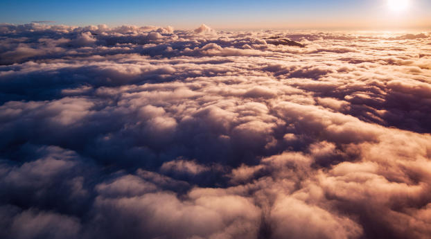 HD Wallpaper | Background Image Sunrise Clouds
