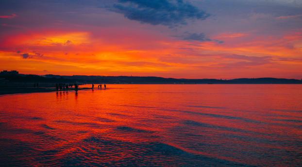 HD Wallpaper | Background Image Sunset 5k