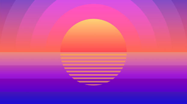 HD Wallpaper | Background Image Sunset Summer Time