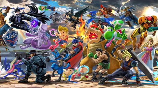 Super Smash Bros Ultimate Wallpaper 1152x864 Resolution