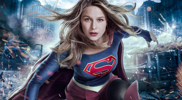 HD Wallpaper | Background Image Supergirl Melissa Benoist Season 3 2017