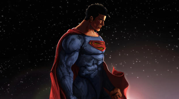 Superman 2021 DC Comic Art Wallpaper