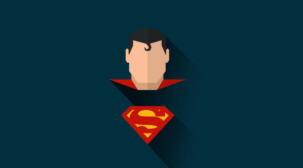 HD Wallpaper | Background Image Superman Minimal