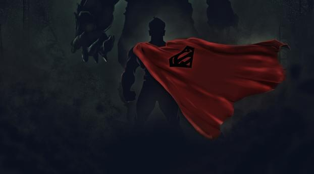 Superman Ready for Fight Wallpaper