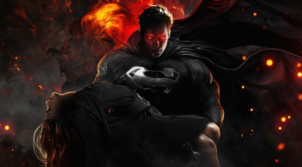 Superman Zack Snyder's Justice League Wallpaper