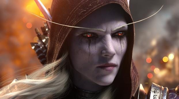 HD Wallpaper | Background Image Sylvanas Windrunner World of Warcraft Battle for Azeroth