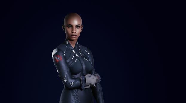 T-Bug Cyberpunk 2077 Wallpaper