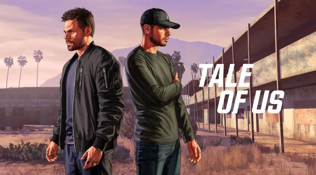 HD Wallpaper | Background Image Tale of Us GTA Online