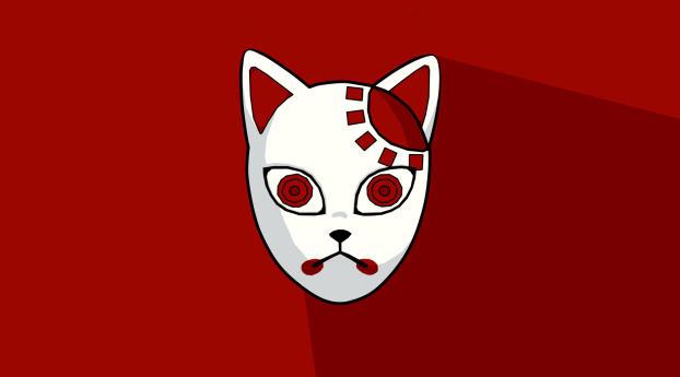 HD Wallpaper | Background Image Tanjirou & Nezuko Warding Mask