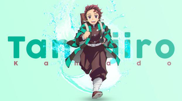 Tanjirou Kamado Anime Wallpaper 1280x2120 Resolution