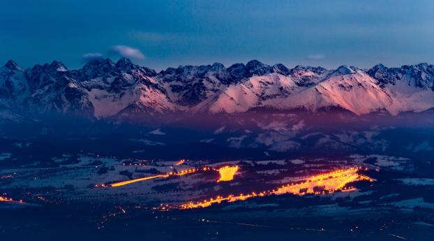 Tatra Mountains Ski Resort Wallpaper