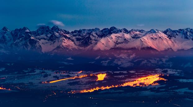 Tatra Mountains Ski Resort Wallpaper in 2560x1700 Resolution