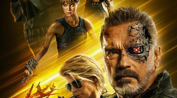 HD Wallpaper | Background Image Terminator Dark Fate Movie